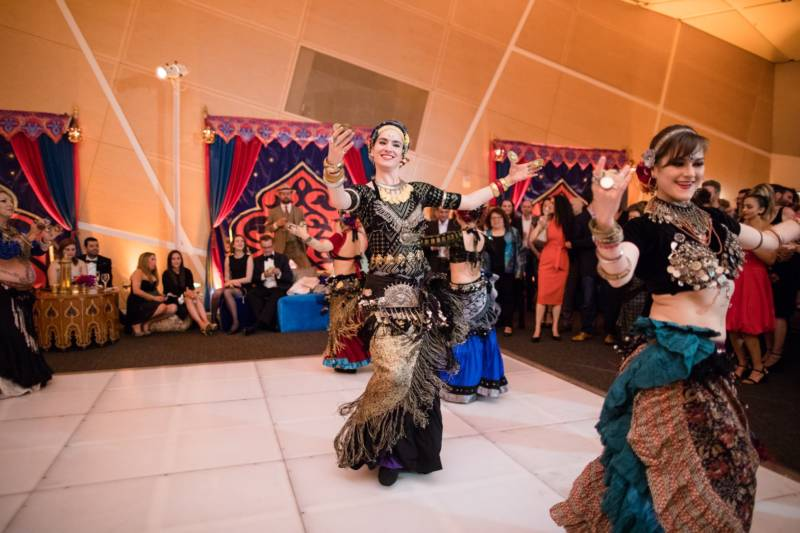 Larissa Archer and San Francisco Bellydance Theater perform at the Contemporary Jewish Museum's 10th Anniversary Gala.