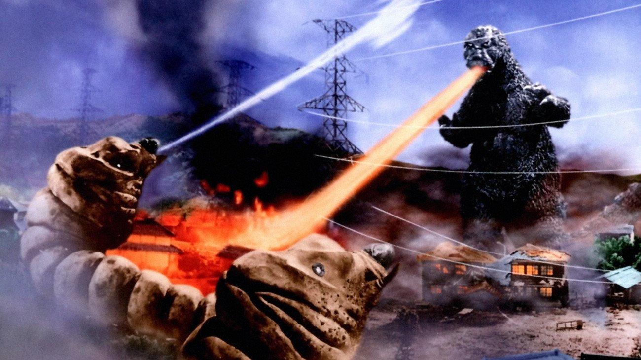 Still from 'Mothra vs. Godzilla,' 1964.