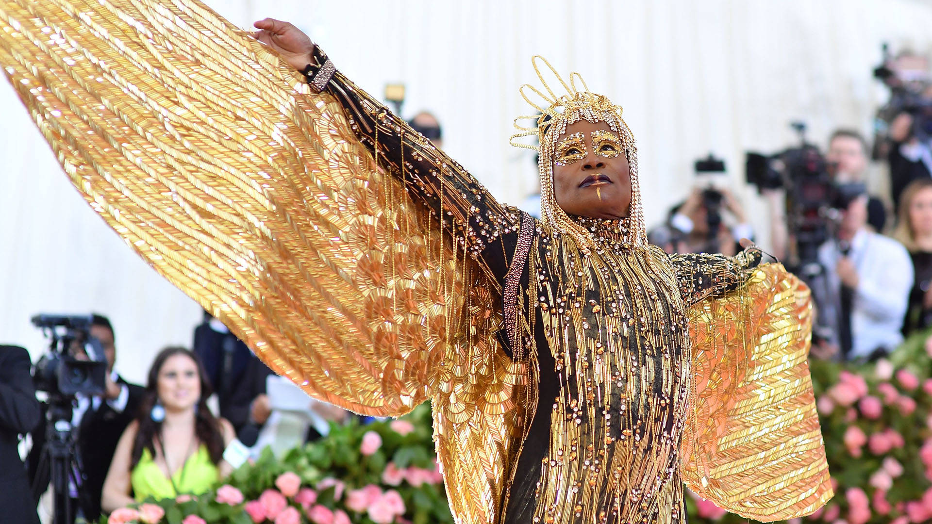 Actor Billy Porter arrives for the 2019 Met Gala at the Metropolitan Museum of Art on May 6, 2019, in New York.  Angela Weiss/AFP/Getty Image