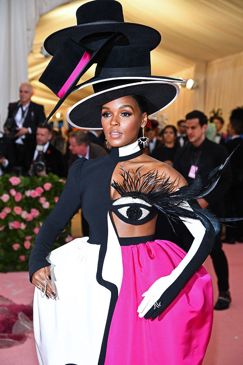 Janelle Monae attends The 2019 Met Gala Celebrating Camp: Notes on Fashion at Metropolitan Museum of Art on May 06, 2019 in New York City.