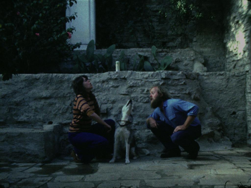 Pat O'Neill, Still from 'Sleeping Dogs (Never Lie),' 1978.