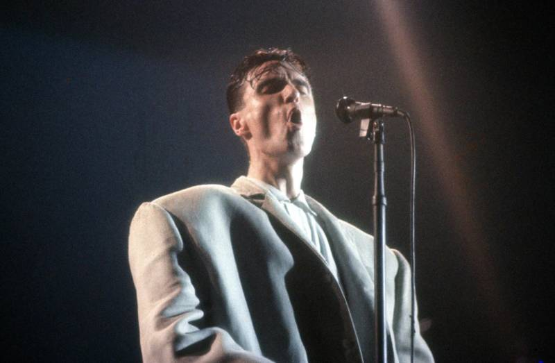 David Byrne in 'Stop Making Sense,' directed by Jonathan Demme.