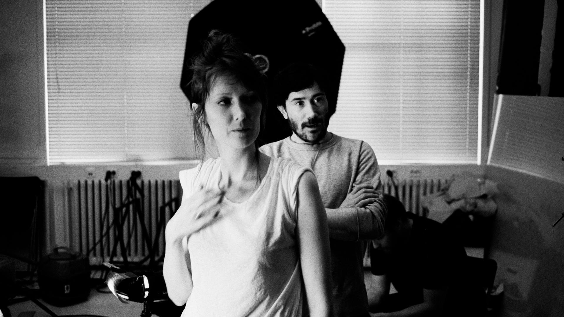 Pella Kågerman and Hugo Lilja, directors of 'Aniara.'