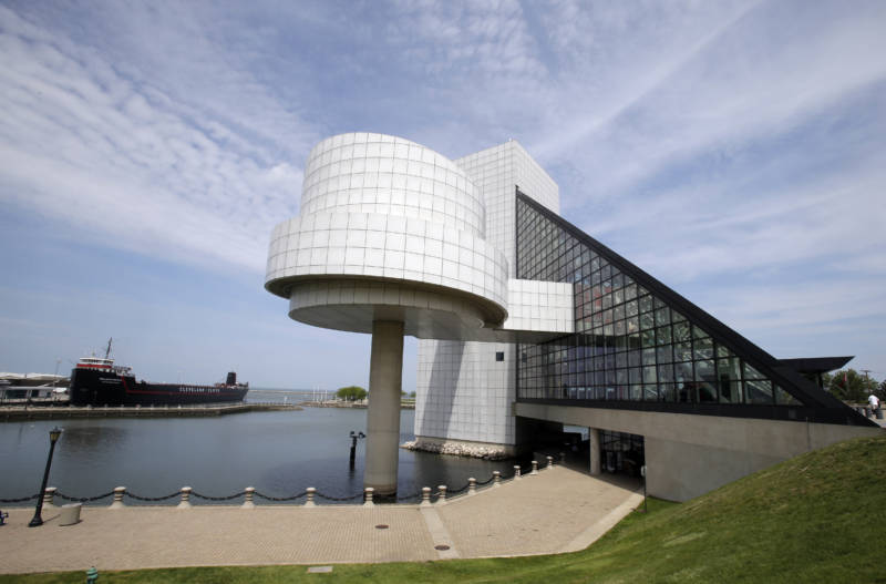 The Rock & Roll Hall of Fame is located on the shores of Lake Erie in downtown Cleveland.