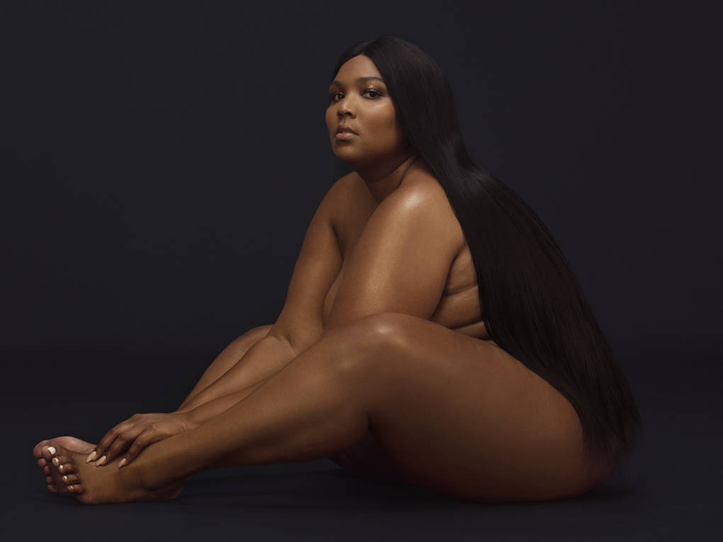 """That was me just so comfortable not trying to cover anything up,"" Lizzo says of the cover photo for Cuz I Love You."