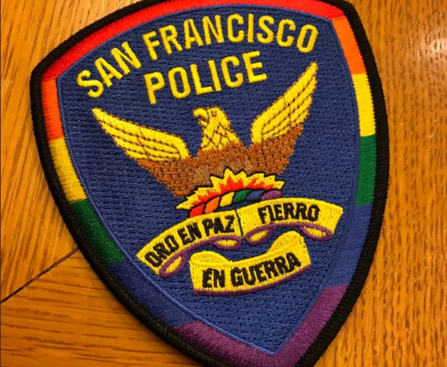 SFPD debuted its Pride badge in 2019.