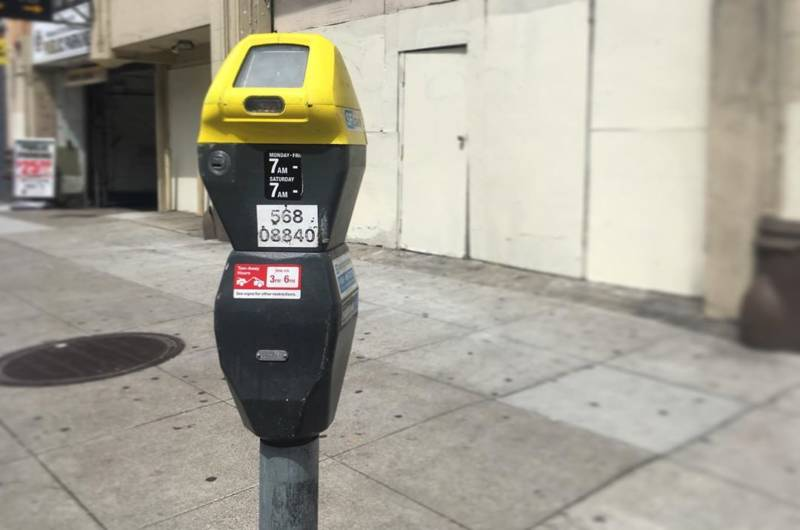 """Parking meters in downtown San Francisco employ """"dynamic"""" pricing."""