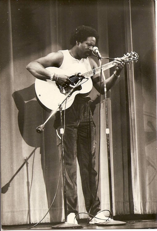Blackberri performing at the Wilshire Ebell Theatre.