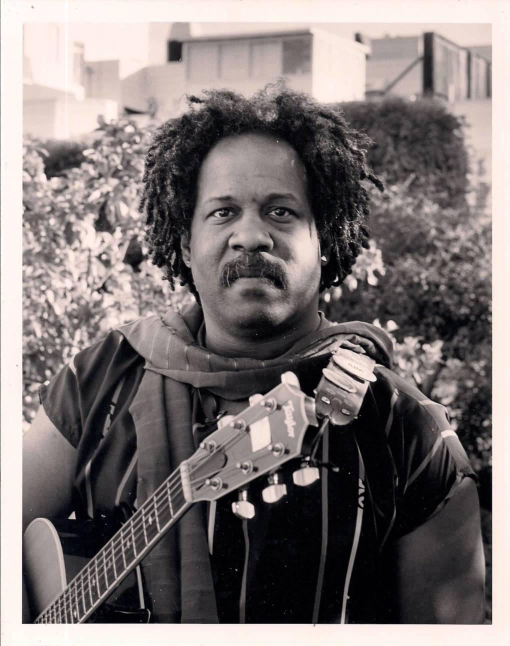Blackberri and his guitar.