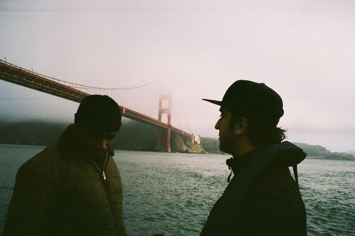 Jimmie Fails and Joe Talbot in San Francisco.