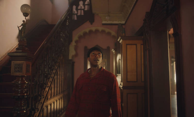 Jimmie Fails and the house in 'The Last Black Man in San Francisco,' 2019.