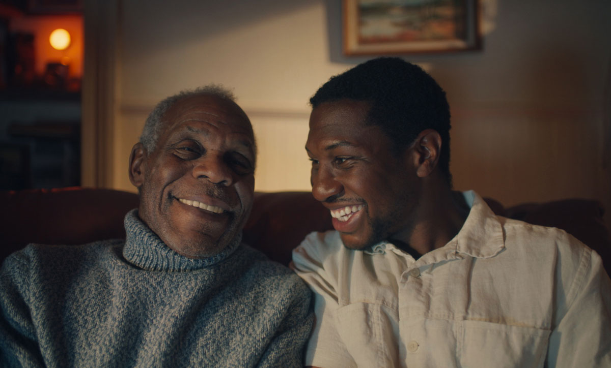 Danny Glover and Jonathan Majors in 'The Last Black Man in San Francisco,' 2019.