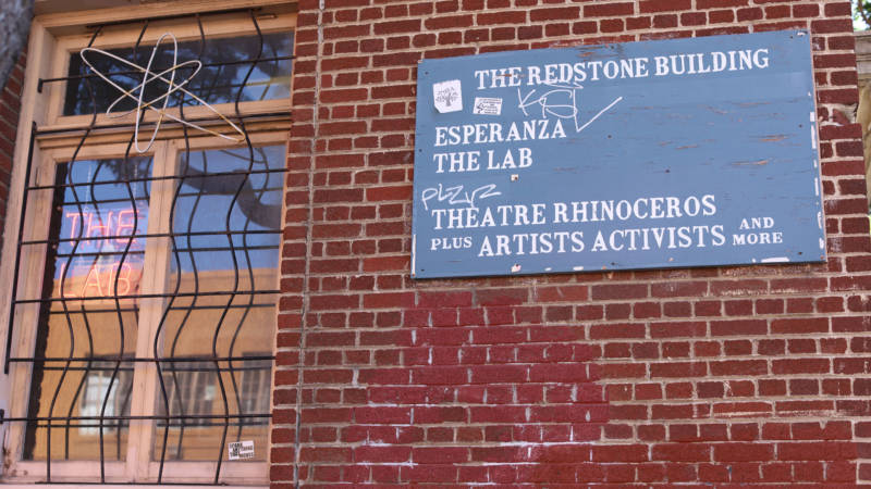 The Redstone Building houses an array of arts and social services organizations.