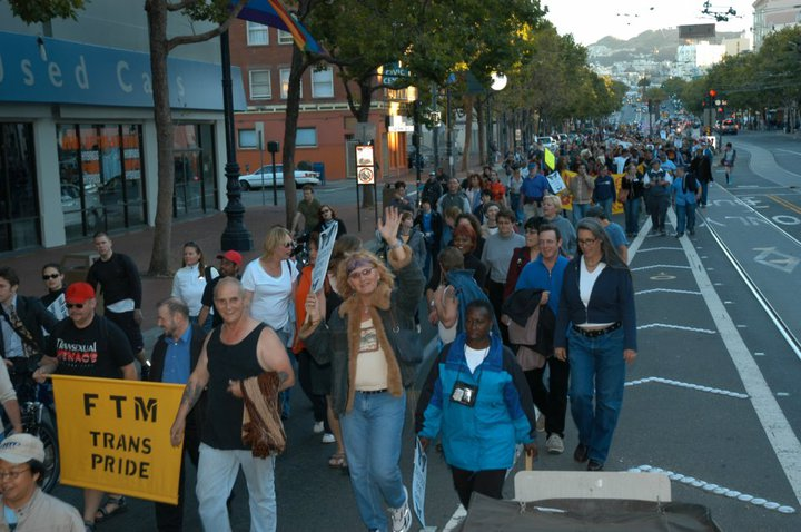 The first Trans March in 2004 reclaimed the trans community's rightful place in San Francisco's Pride celebration.