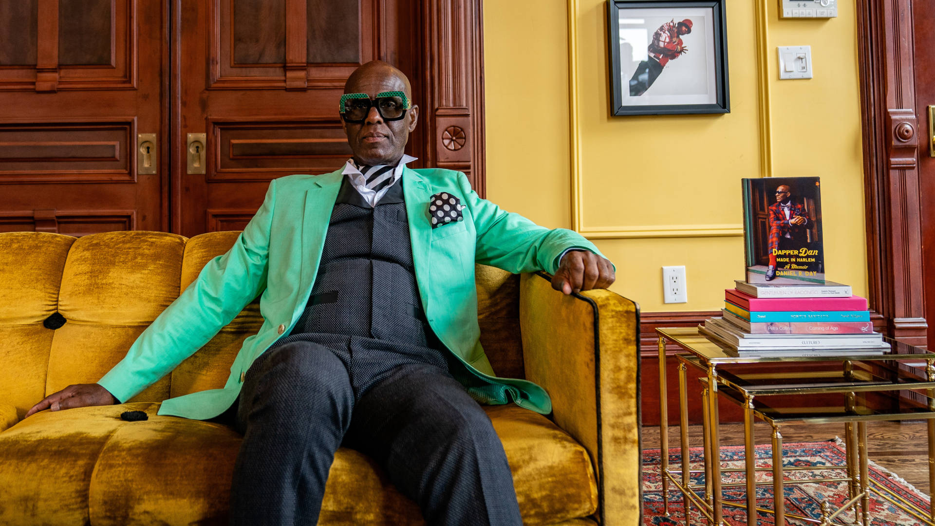 """I consider myself one who creates clothes, and fashions clothes, and uses it as a vehicle to fashion young minds,"" says clothier Dapper Dan. Jelani Day/Dapper Dan of Harlem"