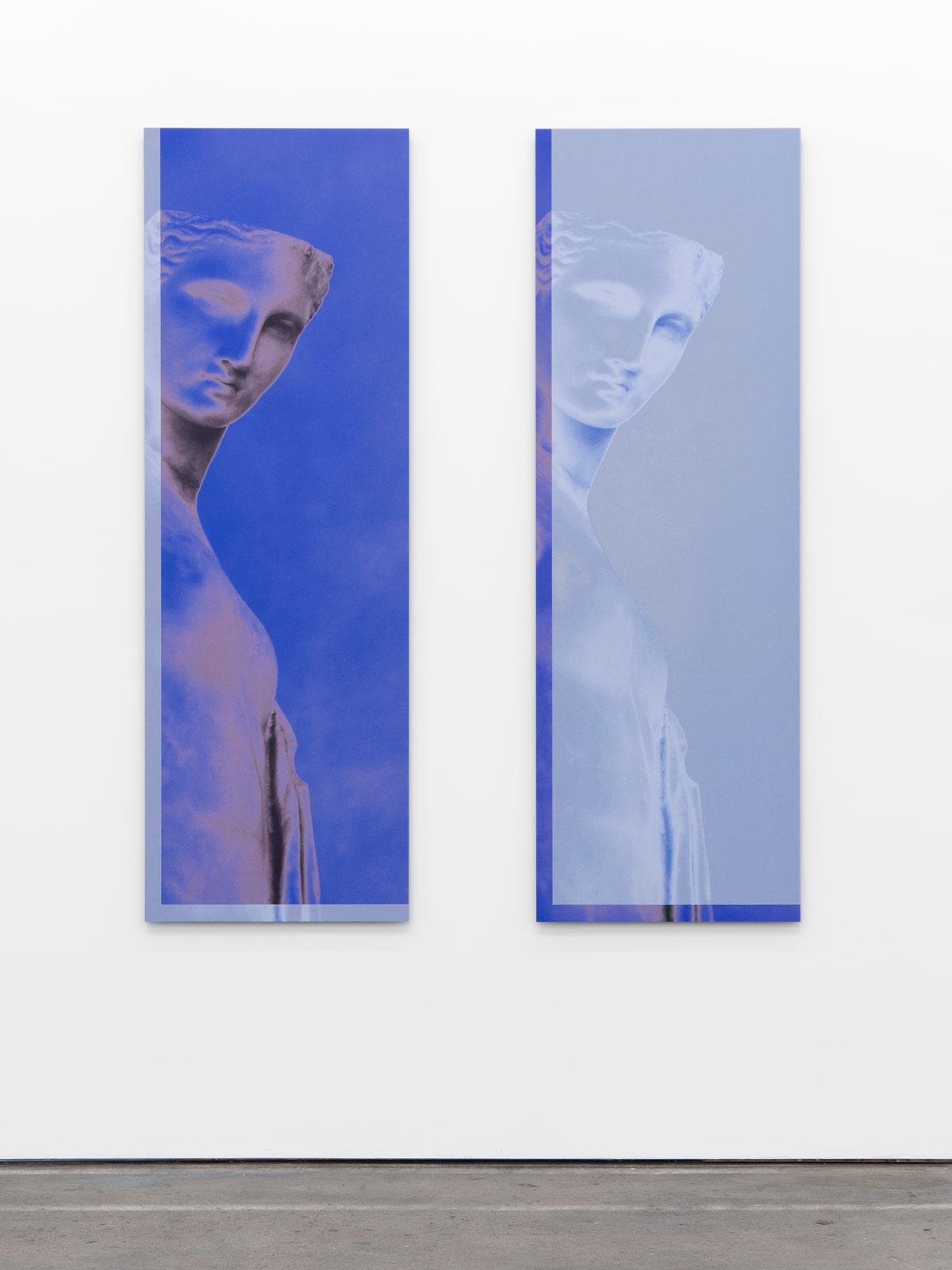 Sara VanDerBeek, 'Roman Woman IX' and 'Roman Woman X,' 2019.