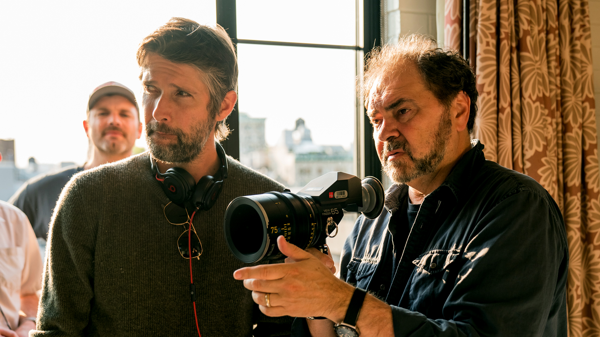 L to R: Bart Freundlich (Director) and Julio Macat (Director of Photography).