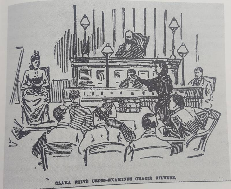 From 'Woman Lawyer: The Trials of Clara Foltz' by Barbara Babcock.