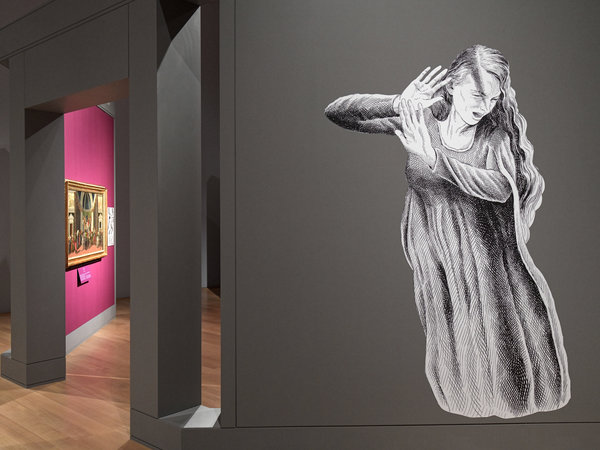 The Isabella Stewart Gardner Museum in Boston hired graphic novelist Karl Stevens to create cartoons of the Roman myths behind some of Botticelli's paintings.