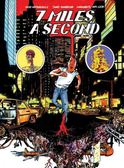 '7 Miles a Second' by David Wojnarowicz, James Romberger and Marguerite Van Cook.