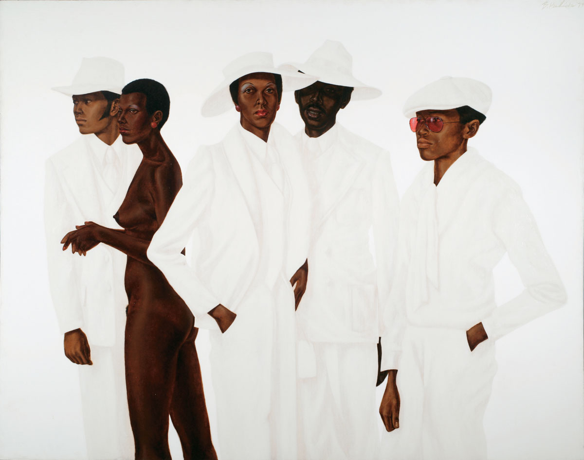 Barkley L. Hendricks, 'What's Going On,' 1974.