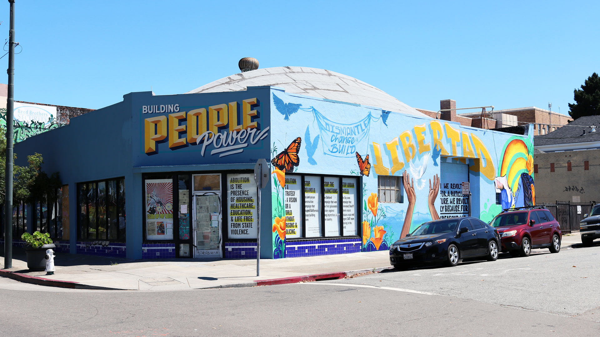 How Prison Abolitionists Acquired a Former Baby Store in Oakland's Temescal District