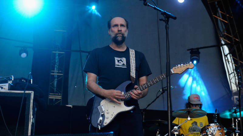 Doug Martsch of Built to Spill performs onstage during day 2 of FYF Fest 2017 at Exposition Park on July 22, 2017 in Los Angeles, California.