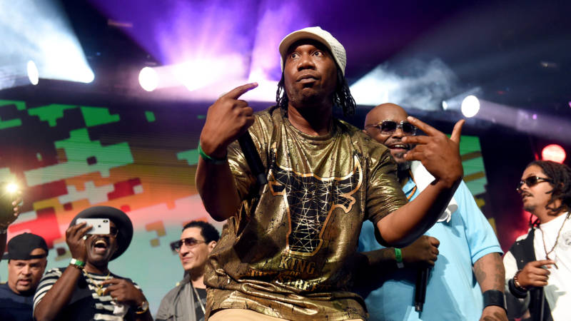KRS-One performs during the YO! MTV Raps 30th Anniversary Live Event at Barclays Center on June 1, 2018 in New York City.