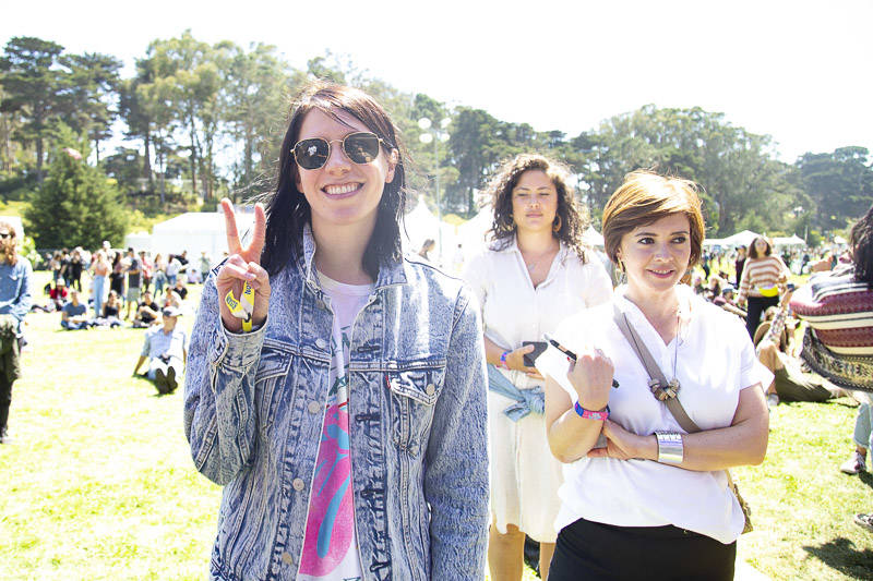 K. Flay at Outside Lands music festival in San Francisco, Aug. 9, 2019.