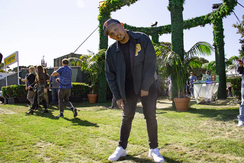 P-Lo at Outside Lands music festival in San Francisco, Aug. 9, 2019.