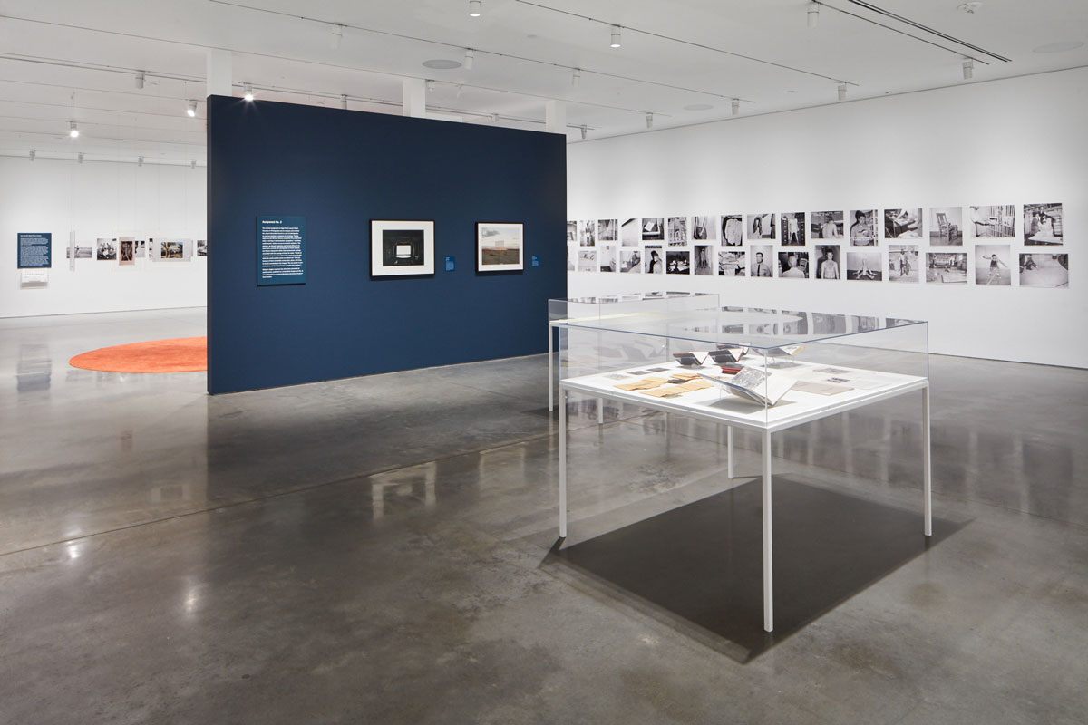 Installation view of 'The San Quentin Project: Nigel Poor and the Men of San Quentin State Prison' at BAMPFA.