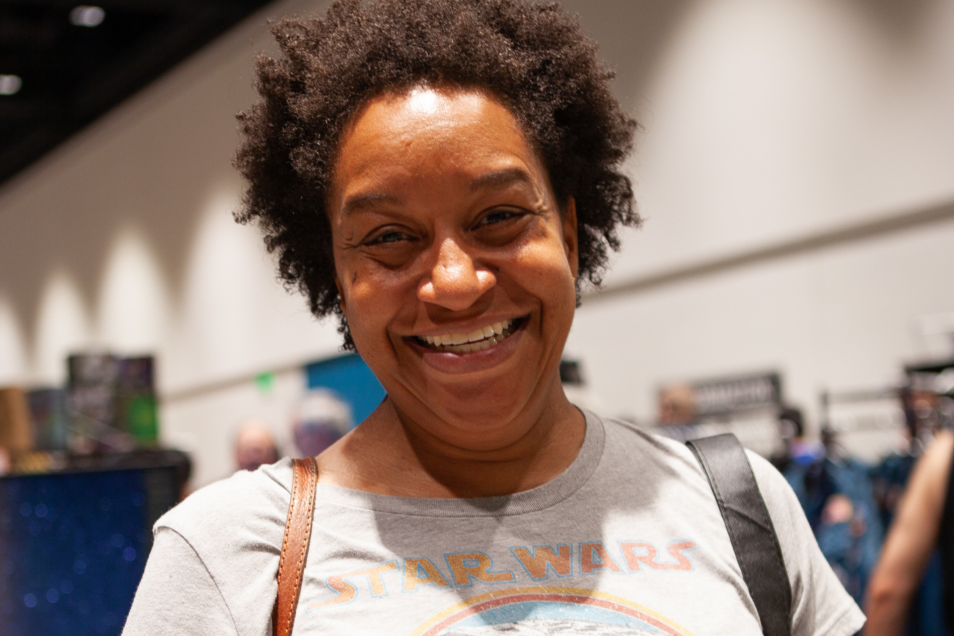 """Jamila English, on the hunt for a job in the sciences, recalled a famous quote from actress, comedian and  author Whoopi Goldberg: """"Without Star Trek, people would still think there were no black people in the future.""""."""