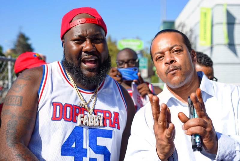 Mistah FAB and Suga Free at Hiero Day in Oakland