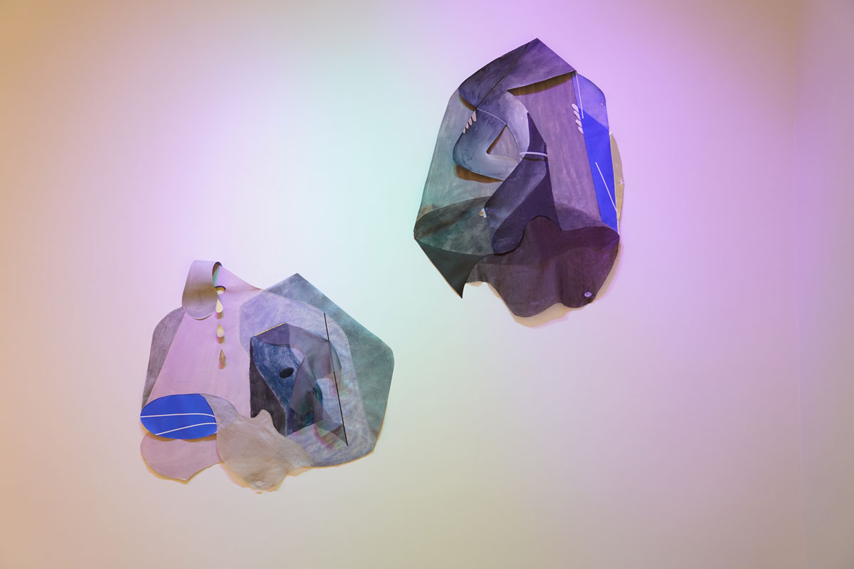 Aay Preston Myint, 'Untitled (Fetish Object) I and II,' 2019.