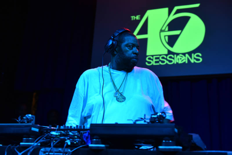 Pioneering Bronx DJ Diamond D performs at Hiero Day 2019.