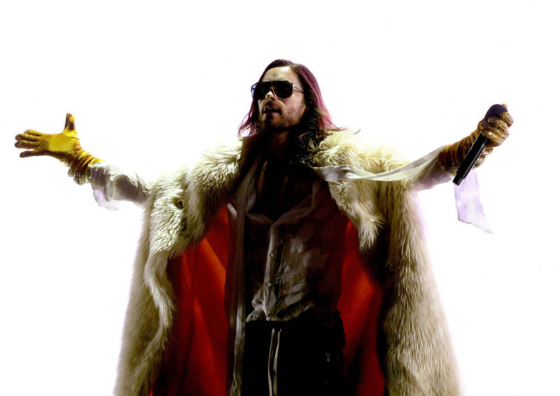 Thirty Seconds to Mars' Jared Leto Started a Cult—Because of Course He Did