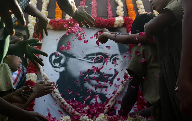 A Great Man, A Complicated Man: Gandhi On Stage in Song and Dance