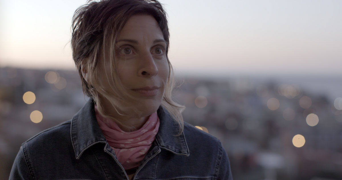 Still from Fredrik Gertten's 'Push' with Leilani Farah.