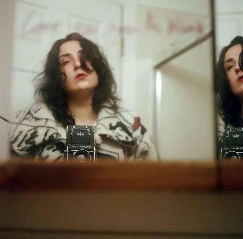 Marissa Leitman, self-portrait.