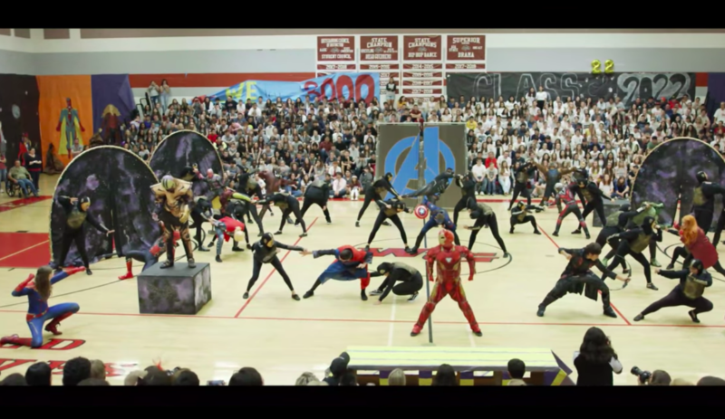 This High School's 'Avengers'-Themed Pep Rally Will Boost Your School Spirit