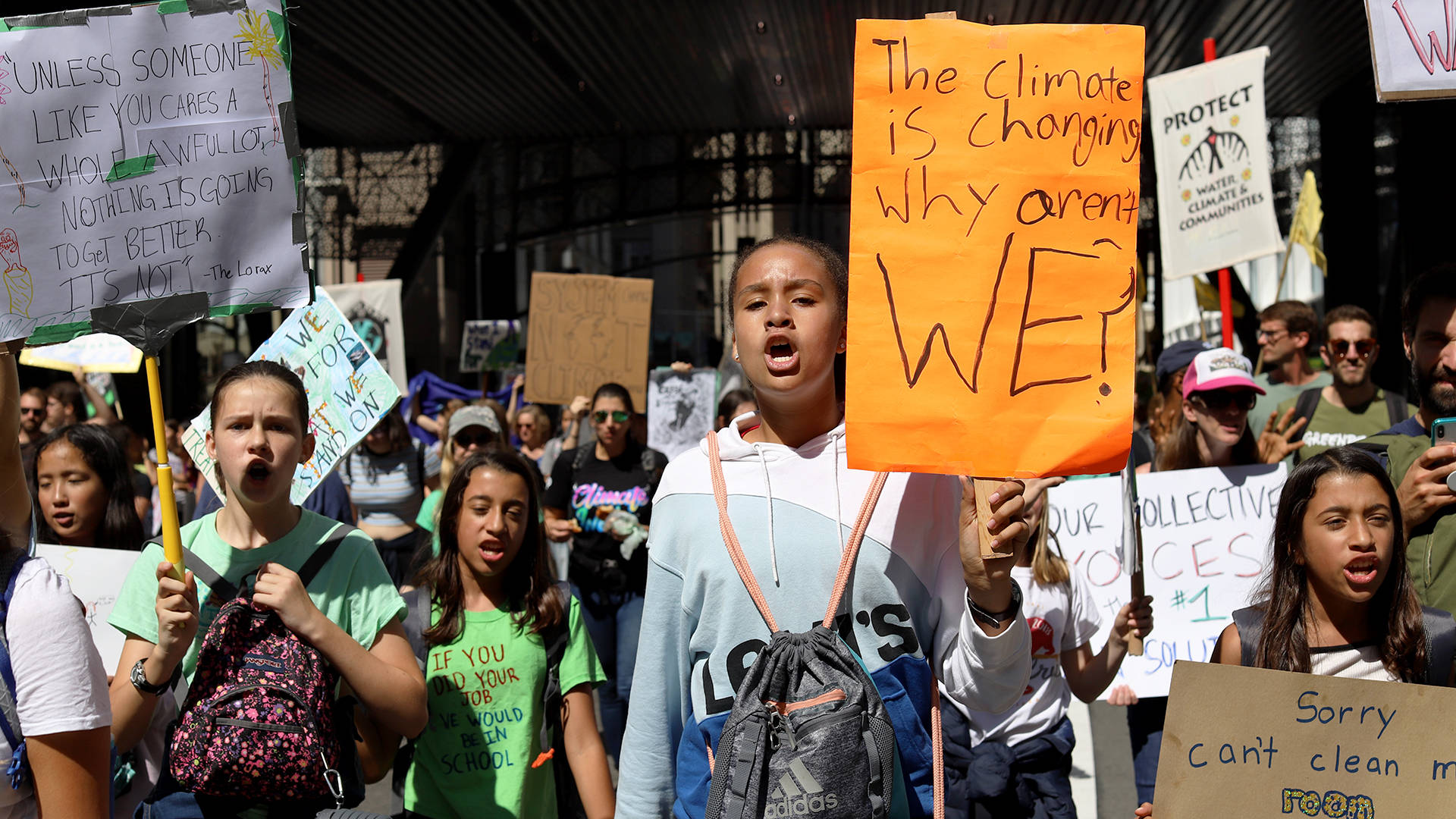 Tens of thousands of demonstrators gathered in San Francisco for the Climate Strike on Sept. 20, 2019. Nastia Voynovskaya