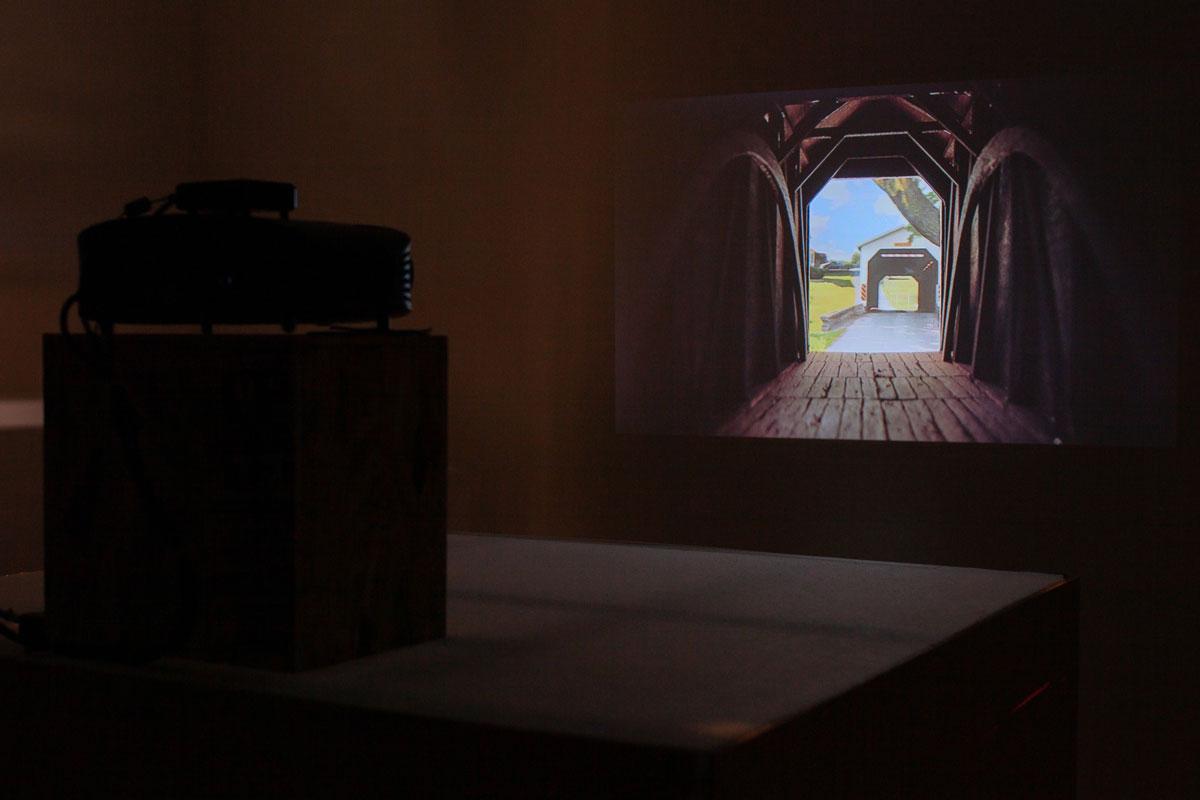 Matt Savitsky, installation view of 'Turn Bridge,' 2019.