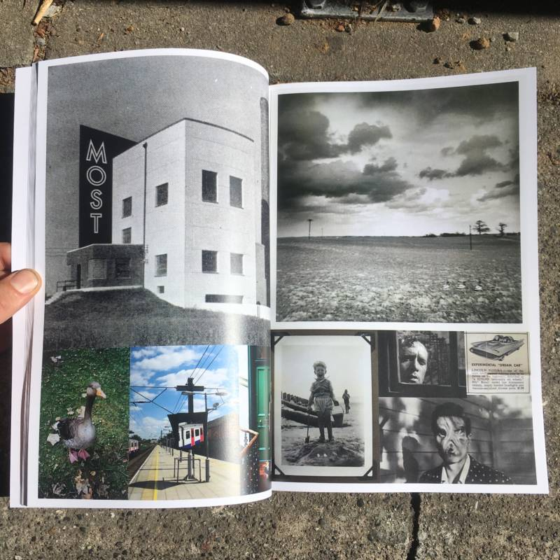 "A page from ""The Journey,"" one of several David King artist books published by Colpa Press."