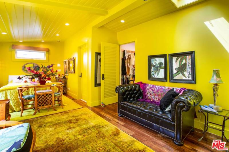 """The Yellow Room"" is the master bedroom."