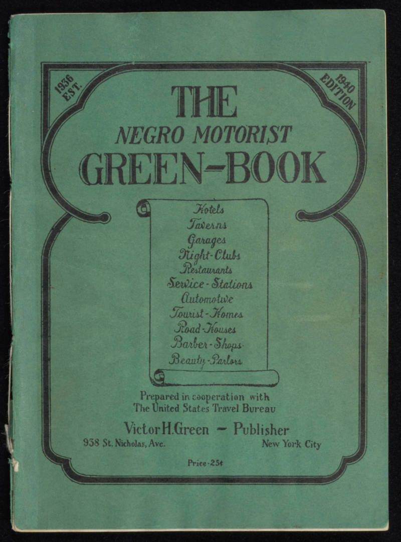 'The Negro Motorist Green-Book' in 1940