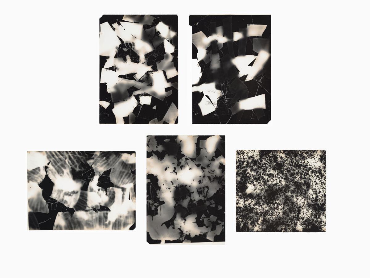 Attributed to Saburo Hasegawa, 'Untitled [C.I-V],' approx. 1955.