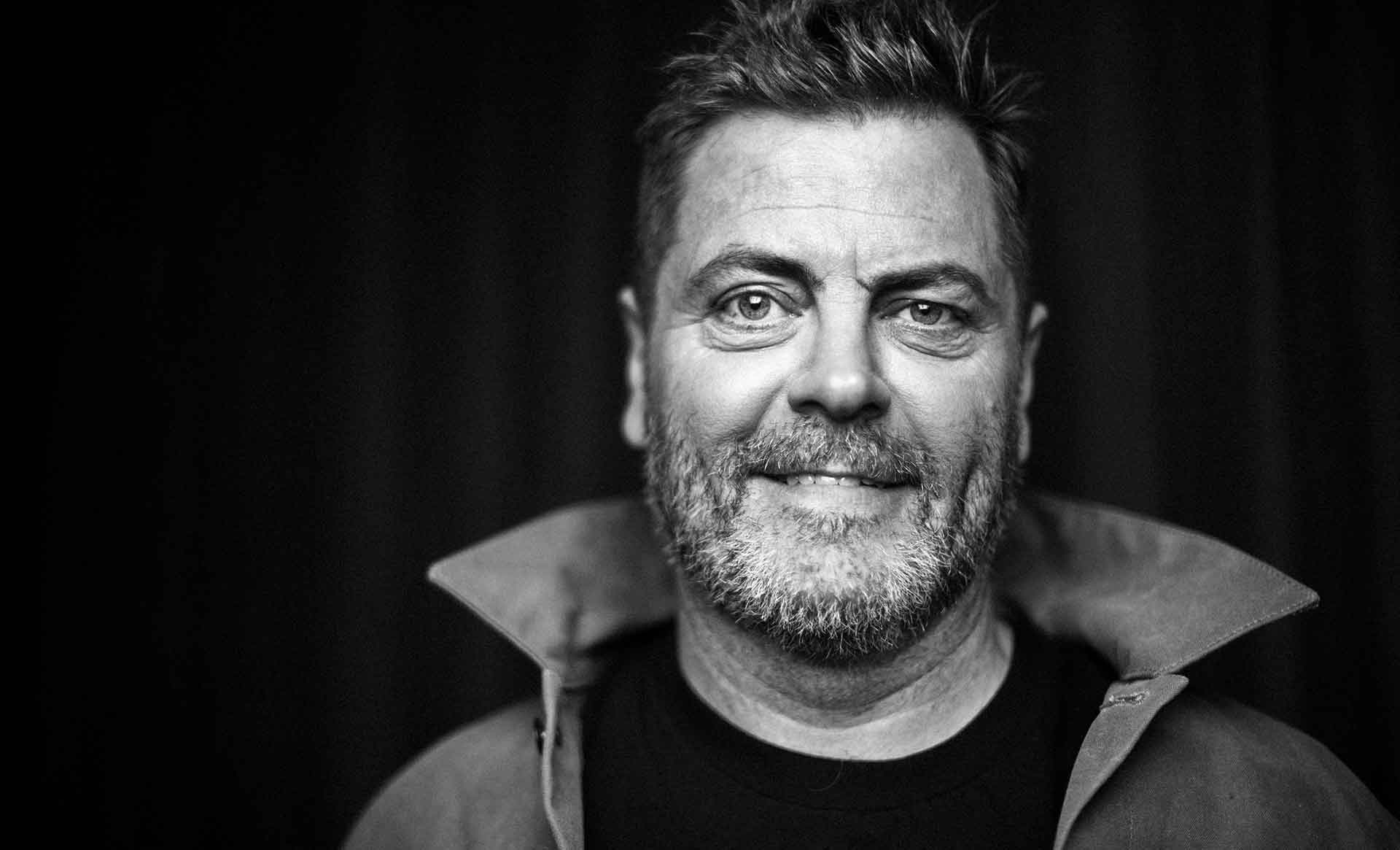 O Come, All Ye Faithful, to the Church of Nick Offerman