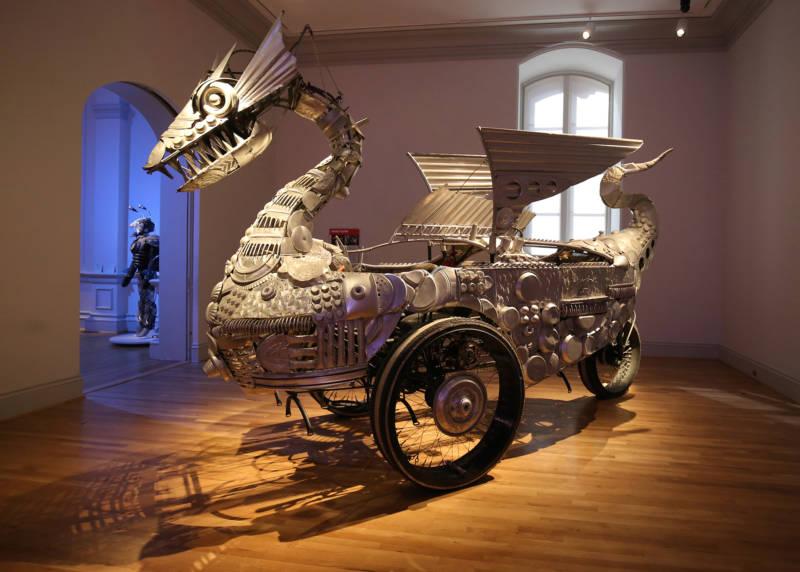 Duane Flatmo, Tin Pan Dragon , 2006.