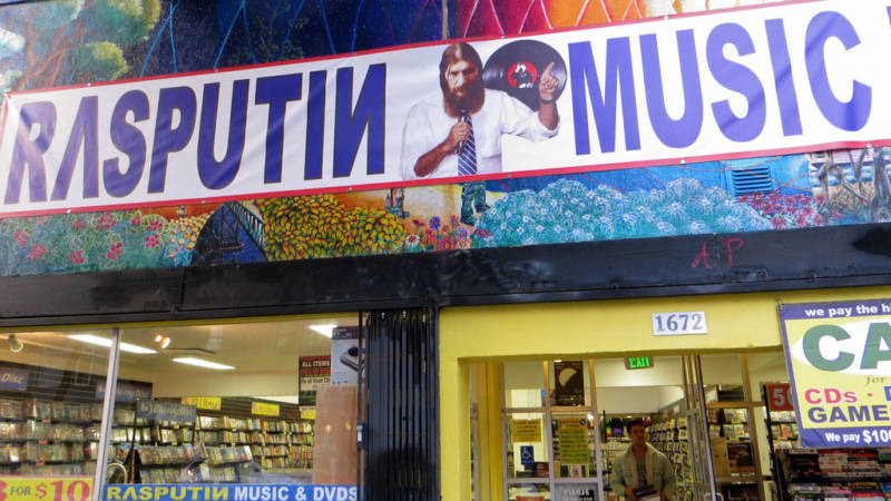 Rasputin Haight Street to Close