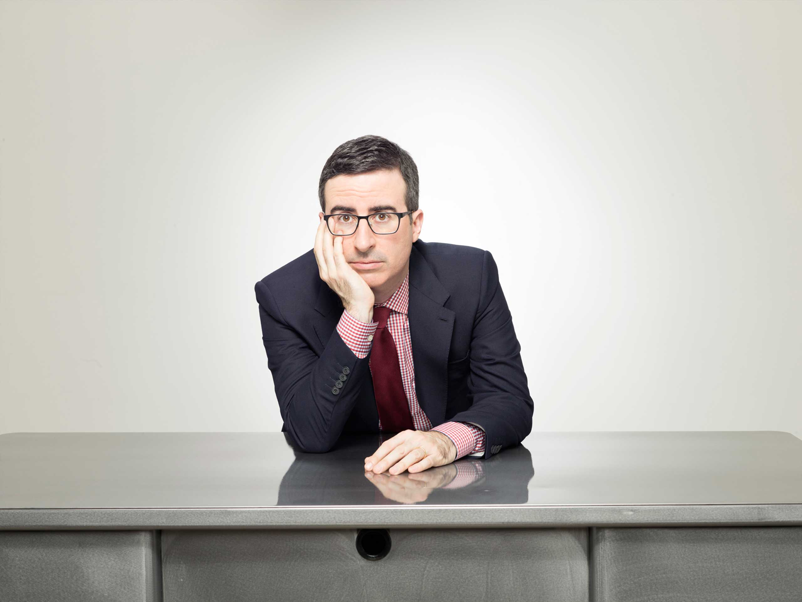 Ring in the New Year With John Oliver's Wit and Wisdom
